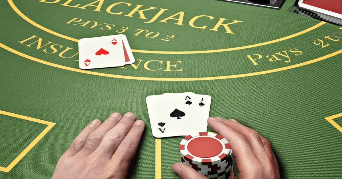 Tiedä ero: Blackjack vs. pokeri!